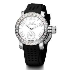 Max Watches Sports Dames Horloge RVS 36mm