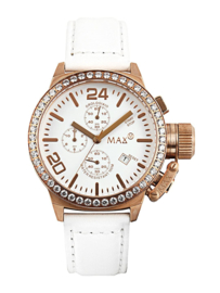 Max Watches Classic  Chronograaf Horloge RVS 42mm