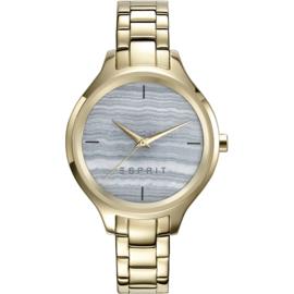 Esprit Garden Street Gold Tone horloge 34 mm