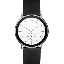 Danish Design Herenhorloge Saffier 42mm Staal IQ12Q925