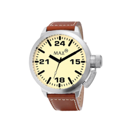 Max Watches Classic Dames Horloge RVS 36mm