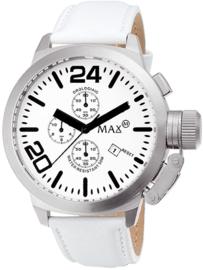 Max Watches Classic Chronograaf Horloge RVS 47mm