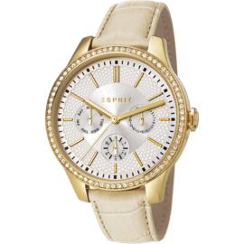 Esprit Alice Gold Tone horloge 38 mm