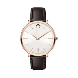 Movado Ultra Slim Dameshorloge Rosegoud 35mm