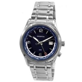 Prisma GMT Wereldtijden Herenhorloge