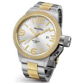TW Steel CB35 Canteen Bracelet Automaat Horloge 45mm ( DEMO)