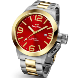 TW Steel CB72 Canteen Bracelet XL Horloge 50mm
