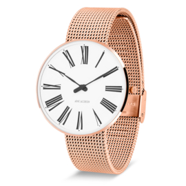 Arne Jacobsen Roman Horloge Rose Goud  40 mm