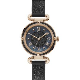 Gc: Guess Collection Cable Chic Dameshorloge Swiss Made 36mm