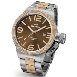 TW Steel CB155 Canteen Bracelet Automaat Horloge 45mm