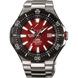 Orient M-Force Red Beast Diver Power Reserve 200m 47 mm