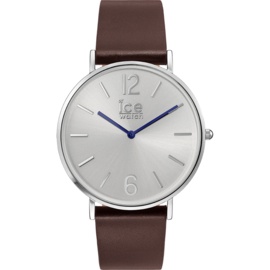 Ice Watch City Tanner Brown Silver Uhr 41mm