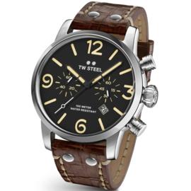 TW Steel MS04 Maverick Chronograaf Horloge 48mm