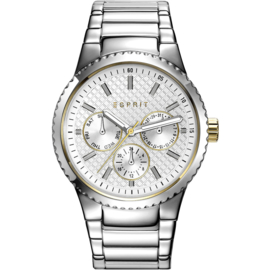 Esprit Beckie Silver Tone horloge 38 mm