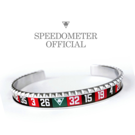 Speedometer Official Armband SBRCASINO Black/Red