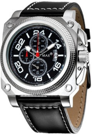Max Watches Horloge RVS 45mm