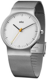 Braun horloge 38mm wit - BN0211WHSLMHG