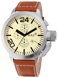 Max Watches Classic Chronograaf Dameshorloge RVS 36mm