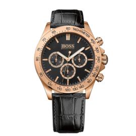 Hugo Boss Black IKON Chrono Uhr 44 mm