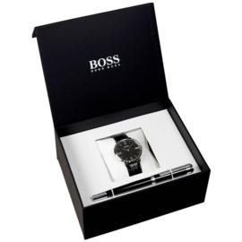 Hugo Boss Essential Giftbox Horloge & Pen 40 mm