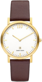Danish Design Horloge 39mm Staal