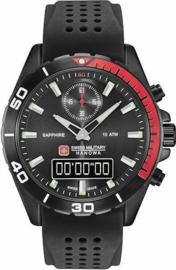 Swiss Military Hanowa Multimission Heren Horloge 43 mm