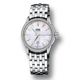 Oris Atelier Date Diamonds Dameshorloge 31mm