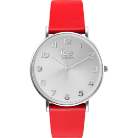 Ice Watch City Tanner Red Silver horloge 36mm