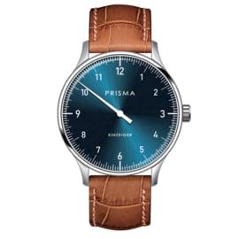 Prisma Design 'Einzeiger' Einzeigeruhr Blau 40mm