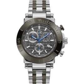 Gc:  Guess Collection One Herenhorloge Swiss Made 44mm