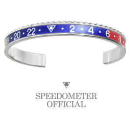Speedometer Official Armband SBR1103 Blue/Red