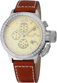 Max Watches Classic Chronograaf Horloge RVS 36mm
