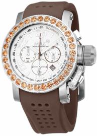 Max Watches Sports Chronograaf Horloge RVS 42mm