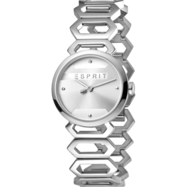 Esprit Arc Silver Dameshorloge 28mm
