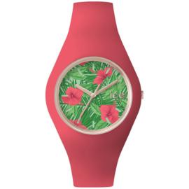 Ice Watch Flower Aloha Horloge Medium 41mm