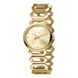 Esprit Arc Champagne Gold Dameshorloge 28mm