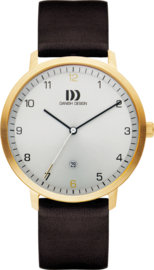 Danish Design Horloge 42mm Staal