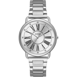 Guess Kennedy horloge staal 41 mm