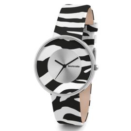 Lambretta Cielo Zebra White Horloge 37 mm
