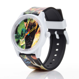 Q&Q Smile Solar Spice Design Duurzaam Horloge 40mm