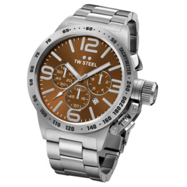 TW Steel CB23 Canteen Chronograph Uhr 45mm
