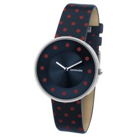 Lambretta Cielo Dots Blue Horloge 37 mm