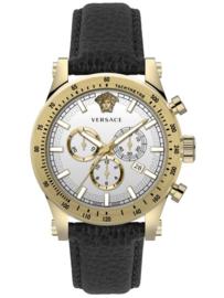 Versace VEV800319  Herenhorloge Chronograaf  Saffier 44 mm