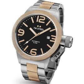 TW Steel CB136 Canteen Bracelet Automaat XL Horloge 50mm