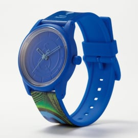 Q&Q Smile Solar Red List Peafowl Duurzaam Horloge 40mm