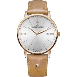 Maurice Lacroix Eliros Uhr in Roségold mit Datumsanzeige 40mm