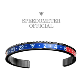 Speedometer Official Armband SBR1103B Blue/Red/Black