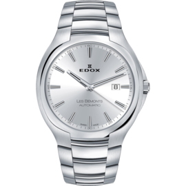 Edox Les Bémonts Ultra Slim Date Automatic 42 mm 80114 3 AIN