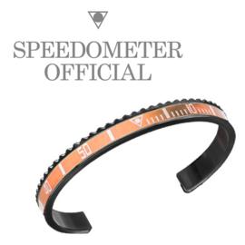 Speedometer Official Armband SBR0509B Orange