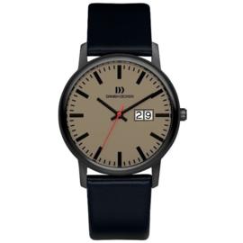 Danish Design Horloge Datum Saffier 38mm Titanium IQ14Q974
